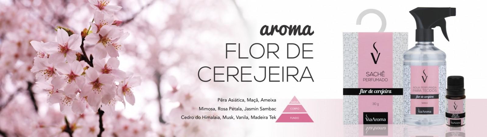 banner home aroma flor de cerejeira