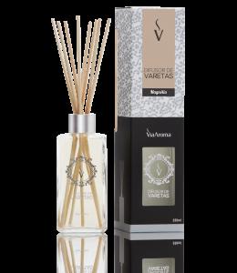 Difusor Ambiente Via Aroma Aromatizador Vareta Stick 250ml Magnolia Angulo
