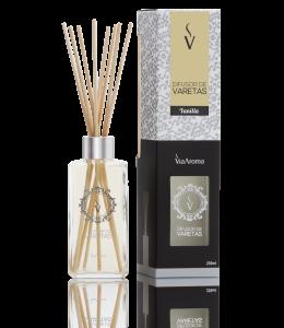 Difusor Ambiente Via Aroma Aromatizador Vareta Stick 250ml Vanilla Angulo