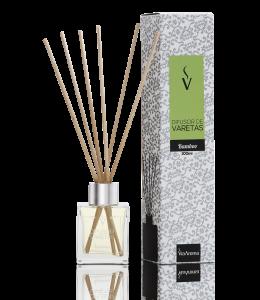 Difusor Ambiente Via Aroma Aromatizador Vareta Stick100ml Bamboo Angulo